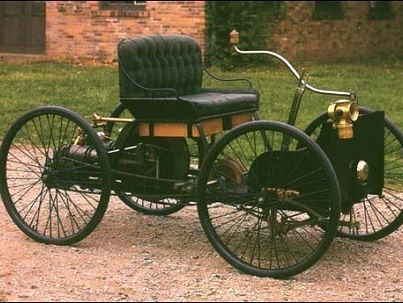 Car Fact The First Cars Did Not Have Steering Wheels Drivers Steered With A Lever