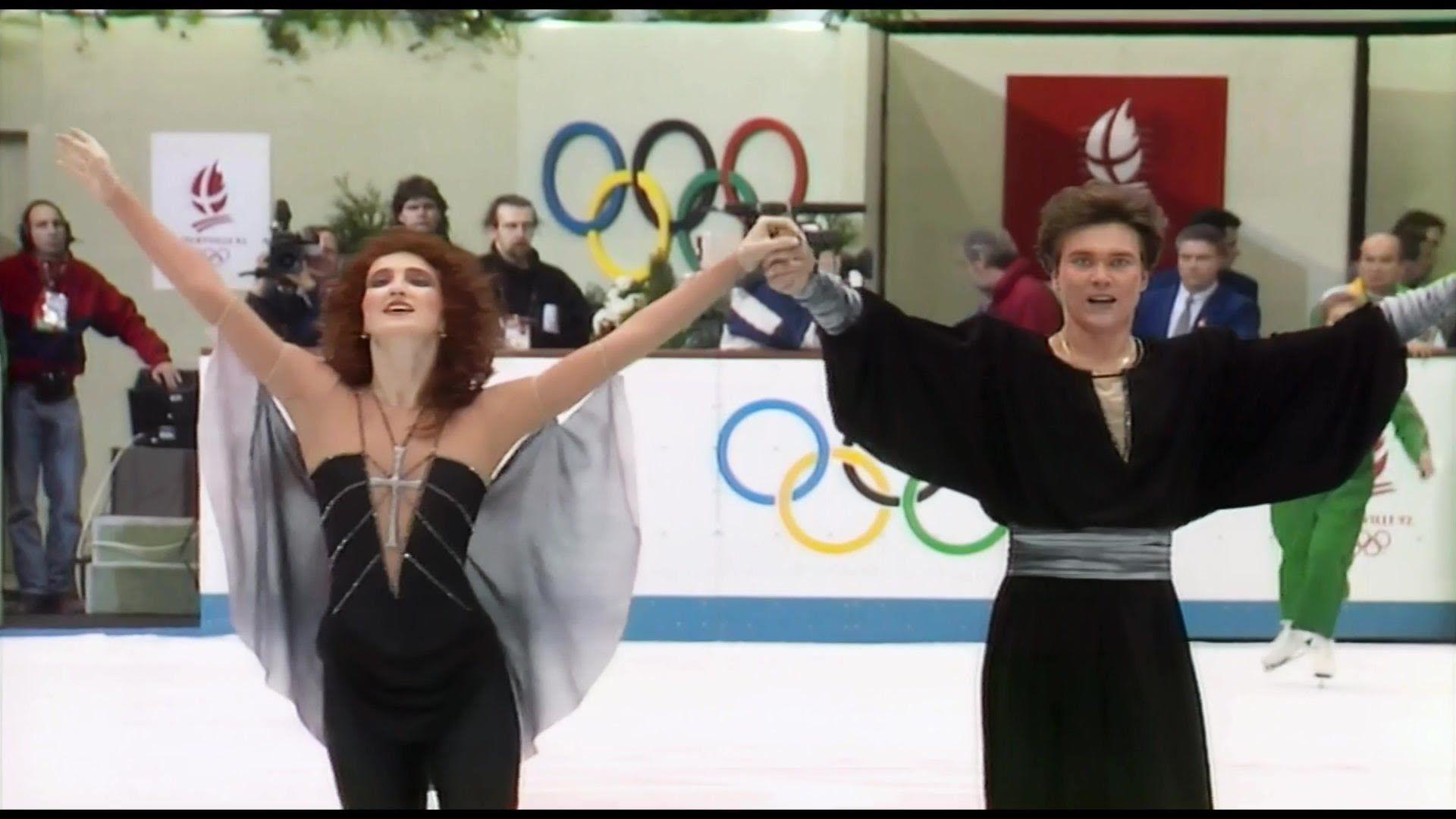 [HD] Marina Klimova and Sergei Ponomarenko 1992