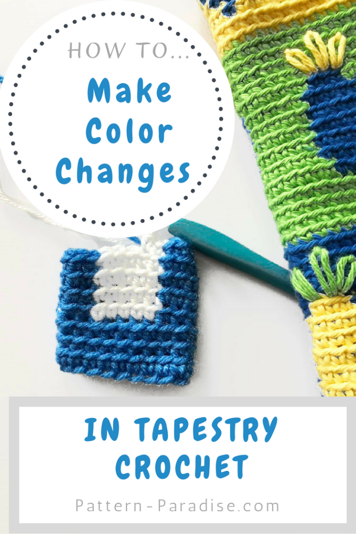 Tutorial: Tapestry Crochet Carrying Color | Crochet | Pinterest