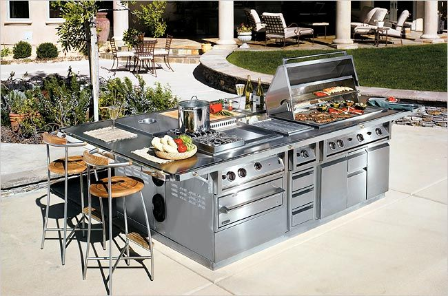 Talos Outdoor Cooking Suite The Bugatti Of Outdoor Entertaining It Features A Searing Station With A Restaur Best Outdoor Grills Outdoor Kitchen Bbq Grills