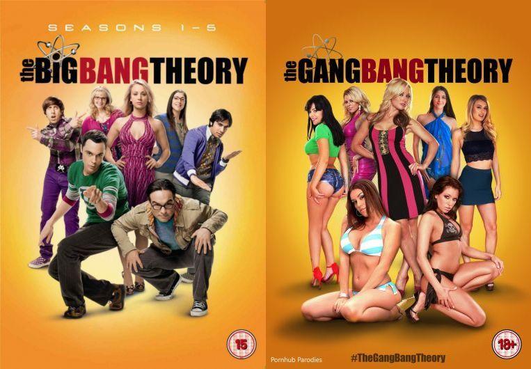 The Big Bang Theory Vs The Gang Bang Theory