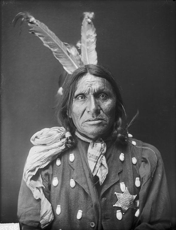 Kangi Ho Waste, Oglala, 1910.