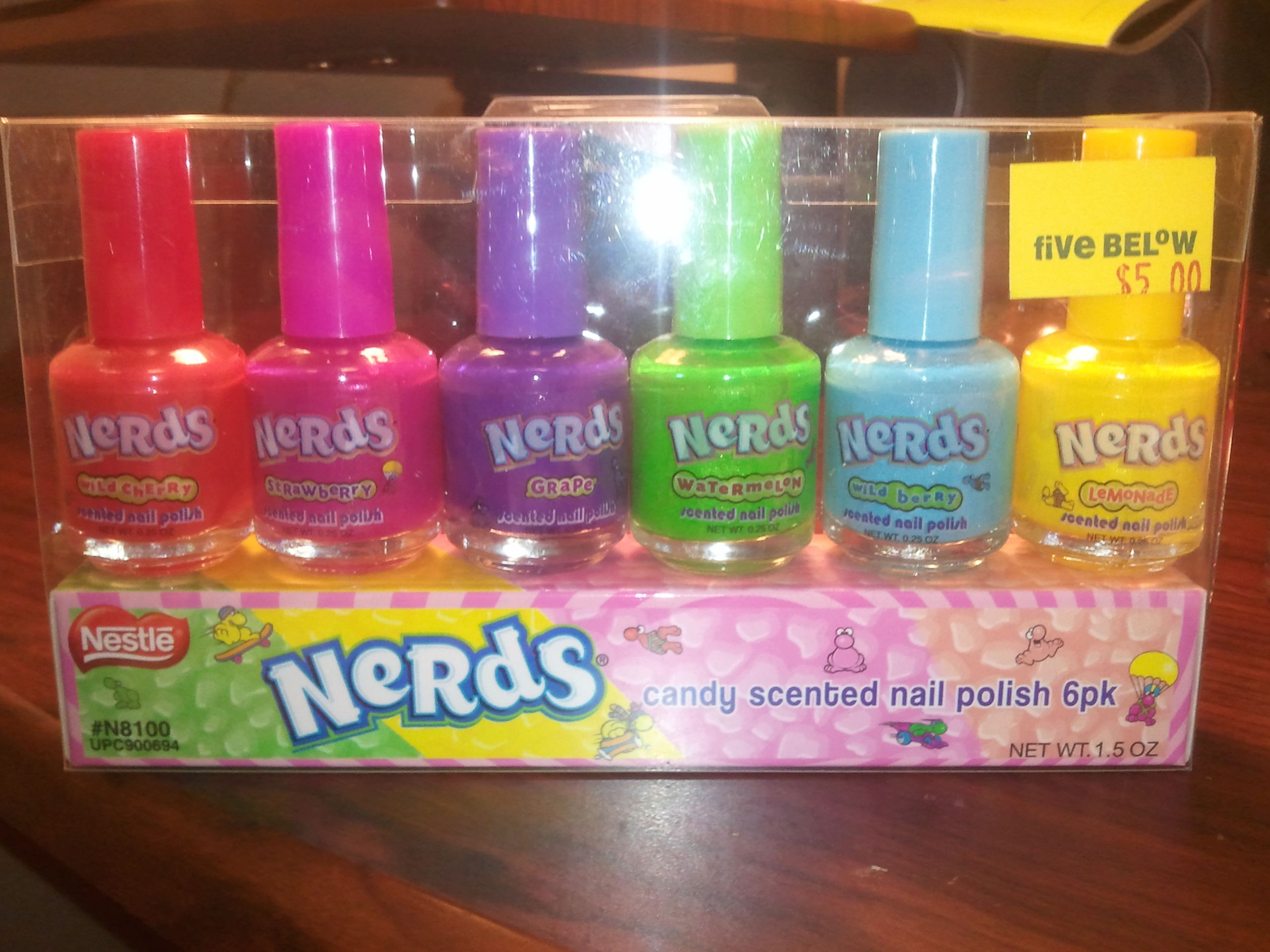 That\'s right...Nerds scented nail polish!! :) | Nailed It ...