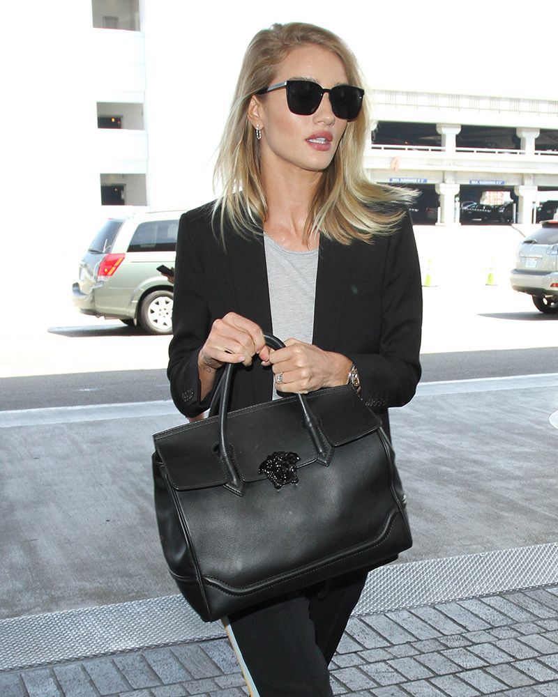 98e22aa7eb Rosie Huntington-Whitely Versace Palazzo Empire Bag