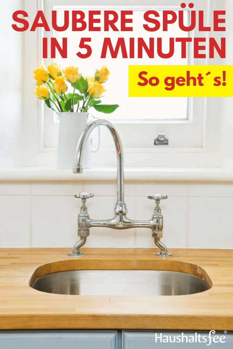 Saubere Spule In 5 Minuten So Geht S Haushaltsfee Org In 2020 Kuche Und Haushalt Waschbecken Kuchentipps