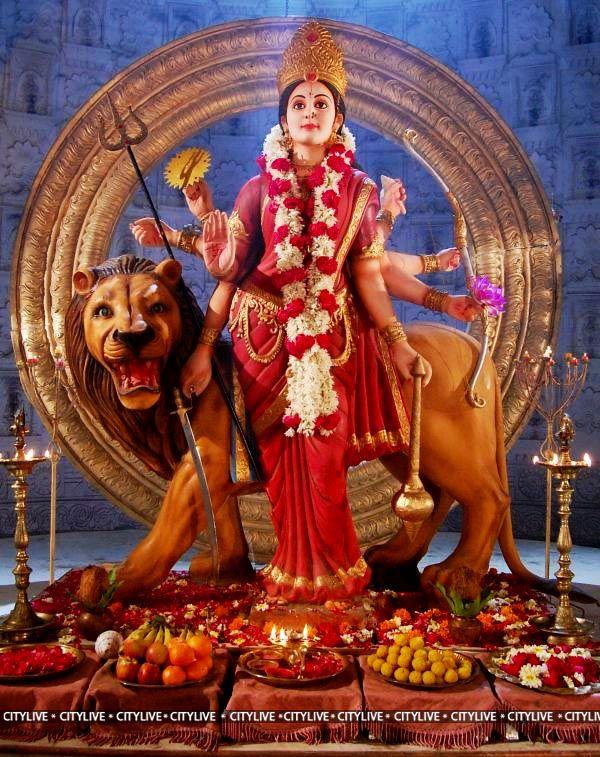 Durga lion