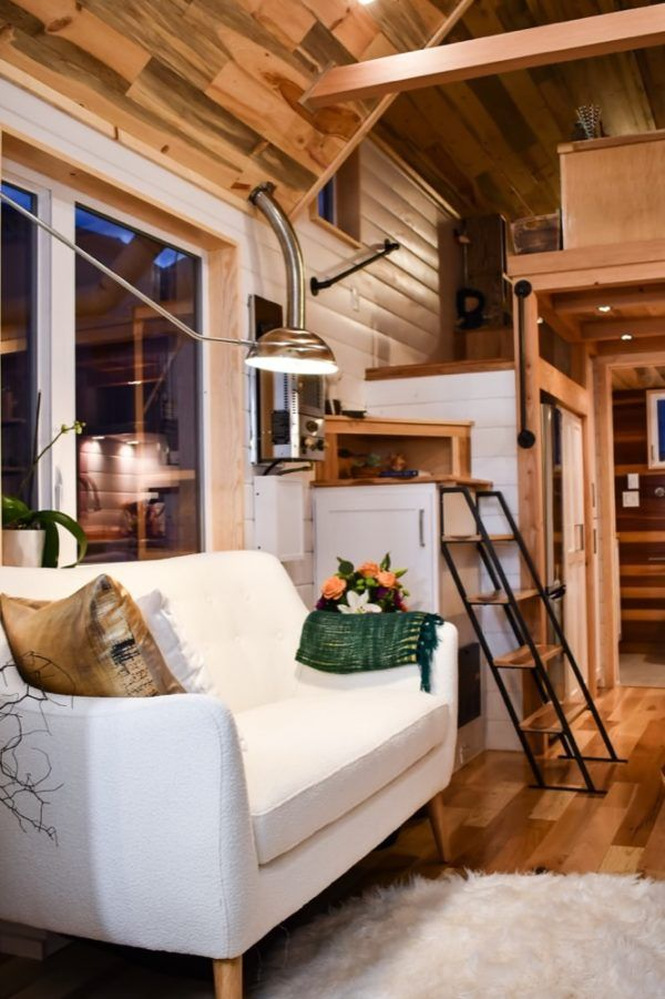 Payette Urban 28 Tiny House On Wheels By Tru Form Tiny. I Really Love This  Stair Arrangement, Specially The Full Headroom Upon Entering The Loft Area.