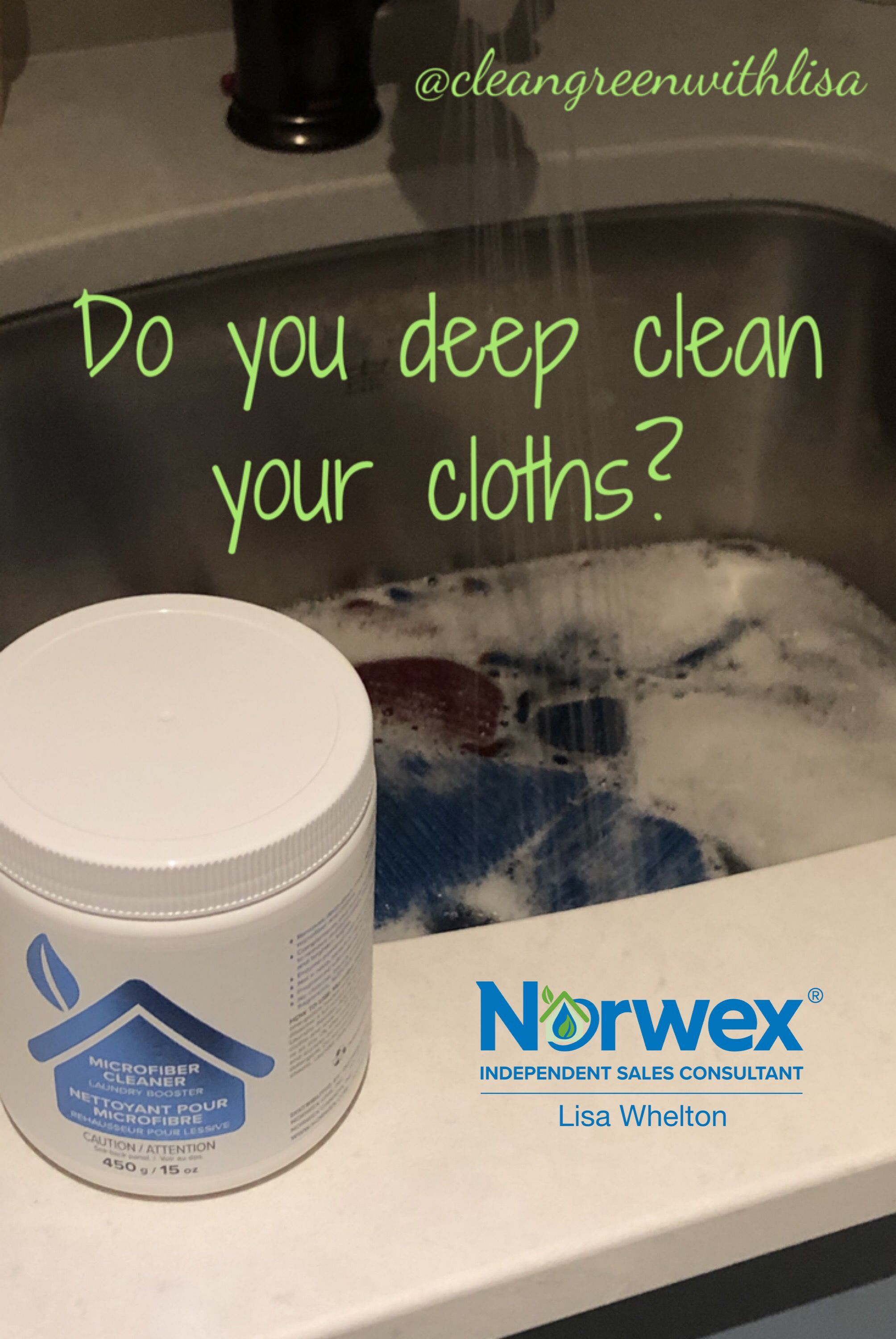 Deep Cleaning Your Cloths Is Easy With Our New Microfiber Cleaner