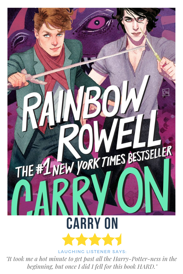 Carry On, Simon Snow book one by Rainbow Rowell | Book Reviews in