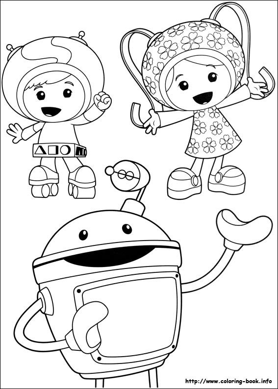 Umizoomi coloring picture Coloring Pages Pinterest Birthdays