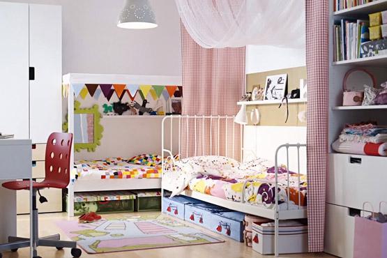 من كتالوج ايكيا أروع تصاميم غرف نوم أطفال ايكيا وغرف أطفال حديثة ديكورات أرابيا Shared Kids Room Kids Room Design Kid Room Decor