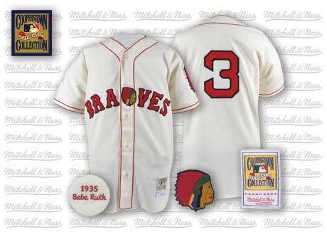 pretty nice d6ccb 8e5ff Babe Ruth, Boston Braves 1935 | Jersey wish list | Babe ruth ...