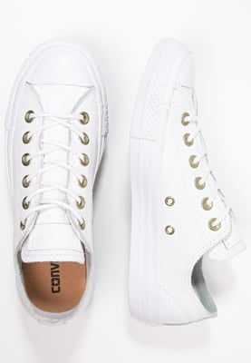 64001fea101 Converse CHUCK TAYLOR ALL STAR - Sneakers laag - white/biscuit - Zalando.be