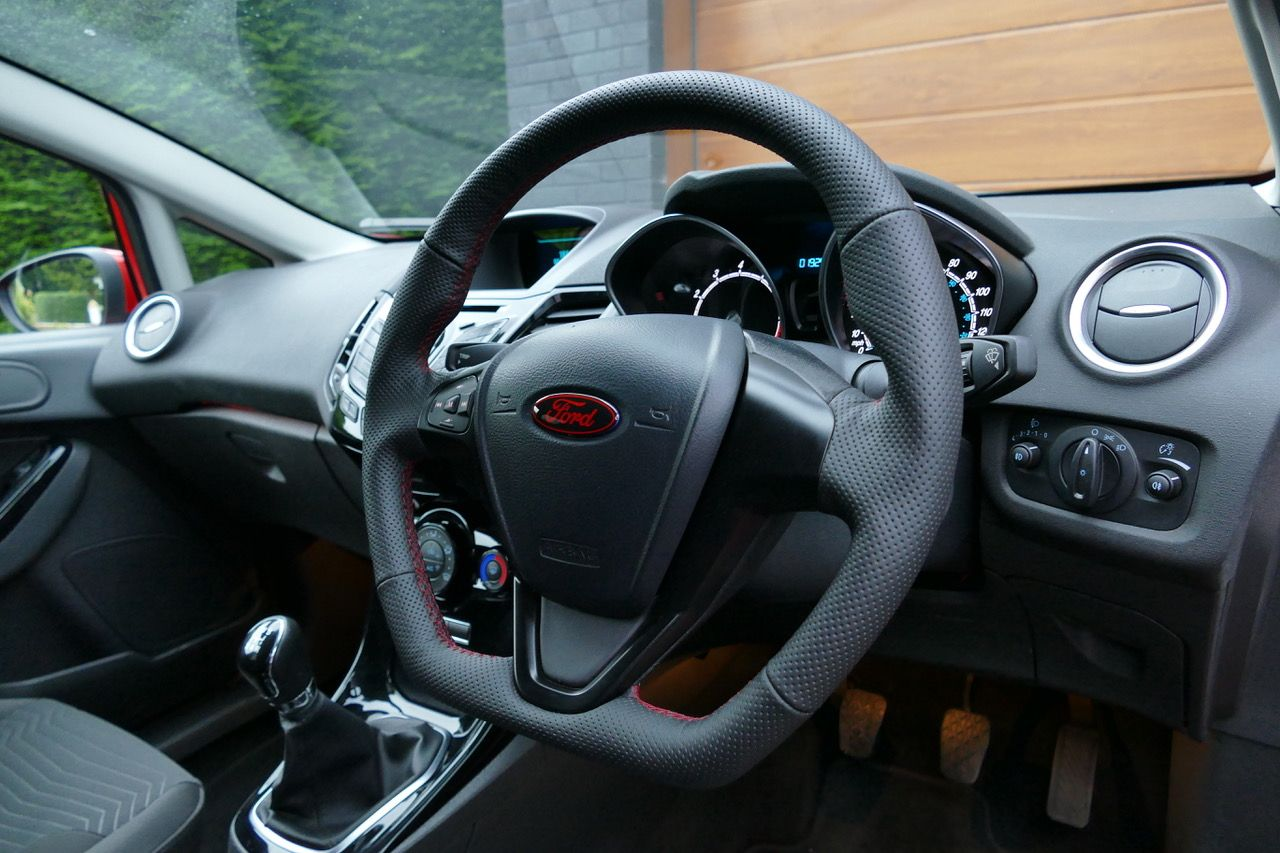 Custom Steering Wheel To Ford Fiesta Fitted Great Design Full