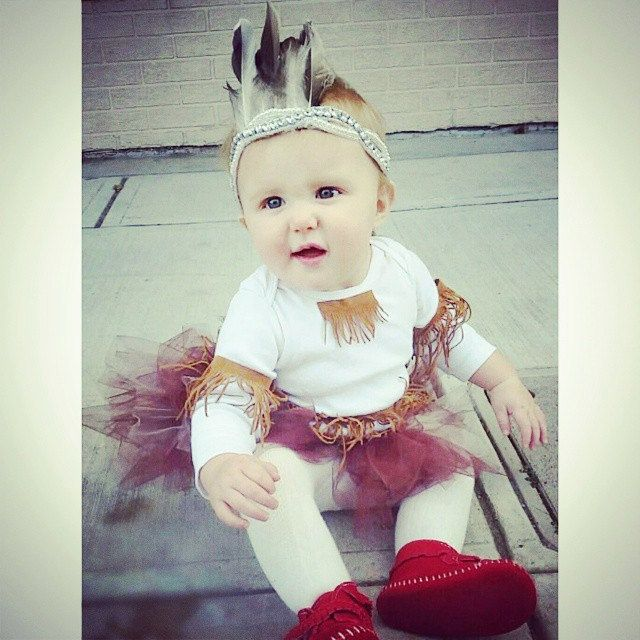 Infant Toddler Indian Native American Unisex Halloween Costume