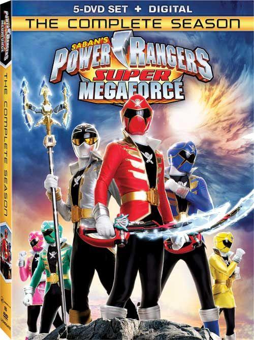 Power rangers megaforce aka power rangers super megaforce legendary announcement 39 complete - Moto power rangers megaforce ...