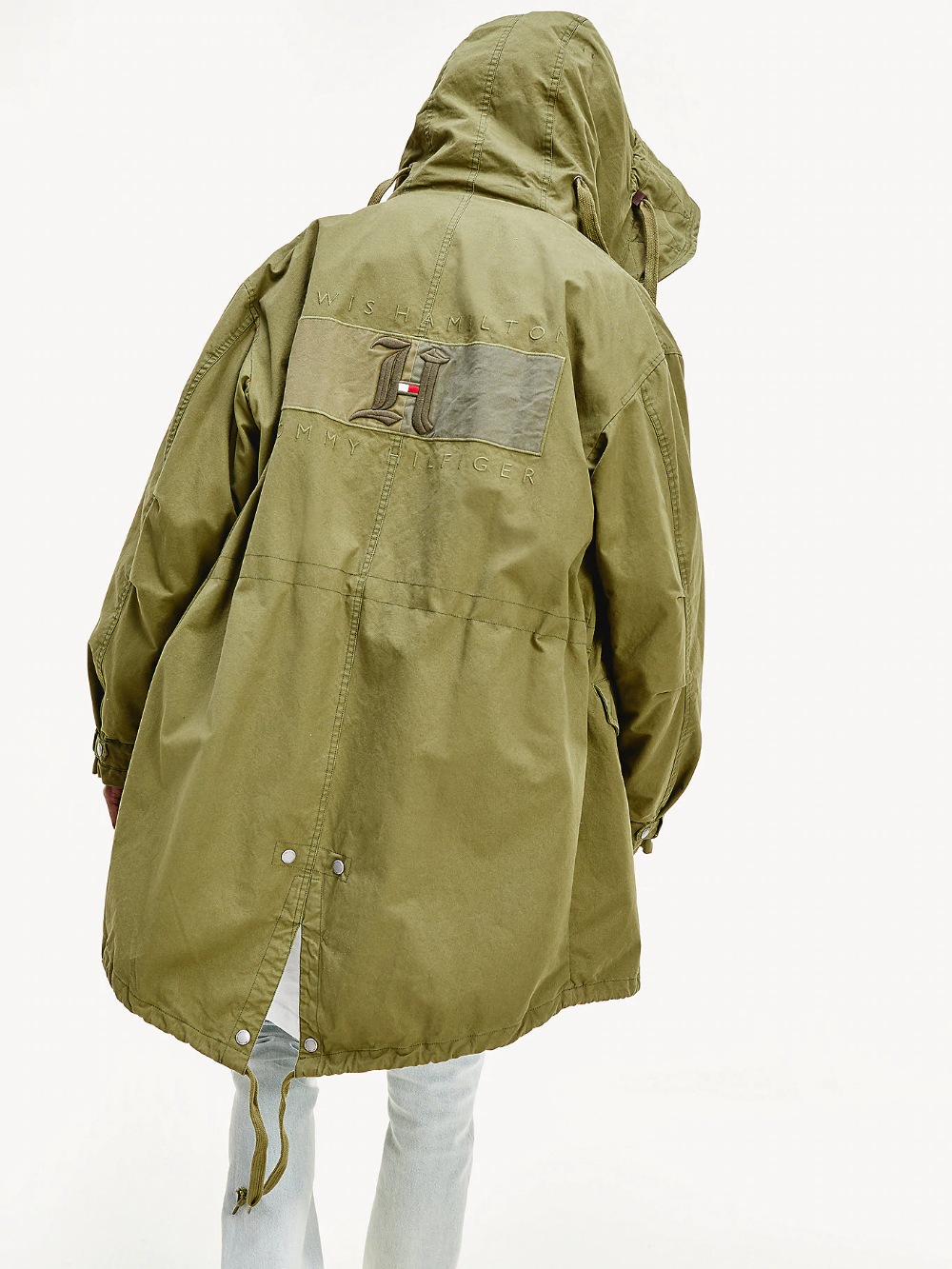 Lewis Hamilton Parka Green Tommy Hilfiger Outerwear Jackets Tommy Hilfiger Men S Coats Jackets [ 1333 x 1000 Pixel ]