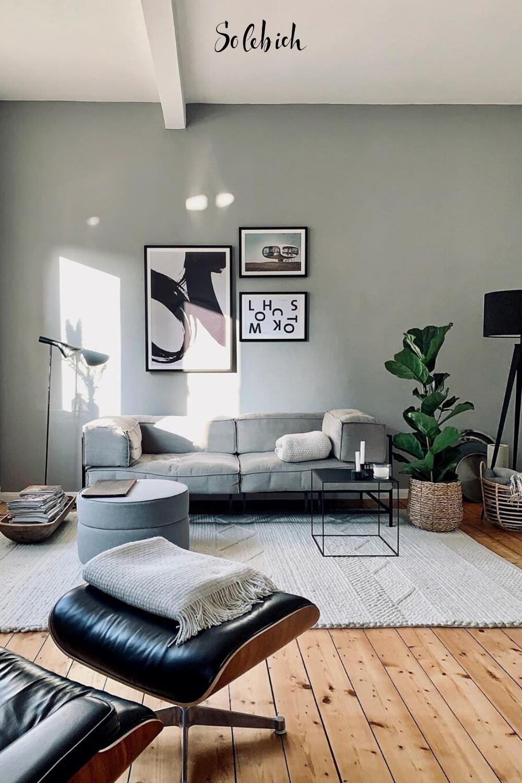 Hier findest du die schönsten Designermöbel für dein Zuhause! Foto: Frilo #solebich #wohnzimmer #möbel #deko #wandgestaltung #wohntextilien #teppich #sofa