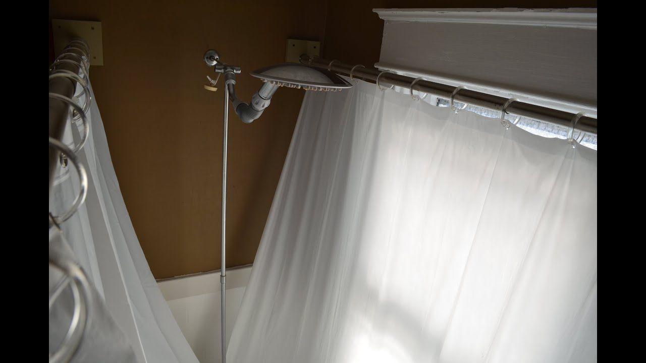 Clawfoot Tub Shower Curtain Improvement Shower Curtain Rod For