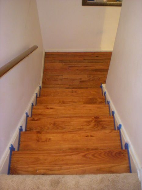 Best Refinishing An Hardwood Staircase With Images Refinish 400 x 300