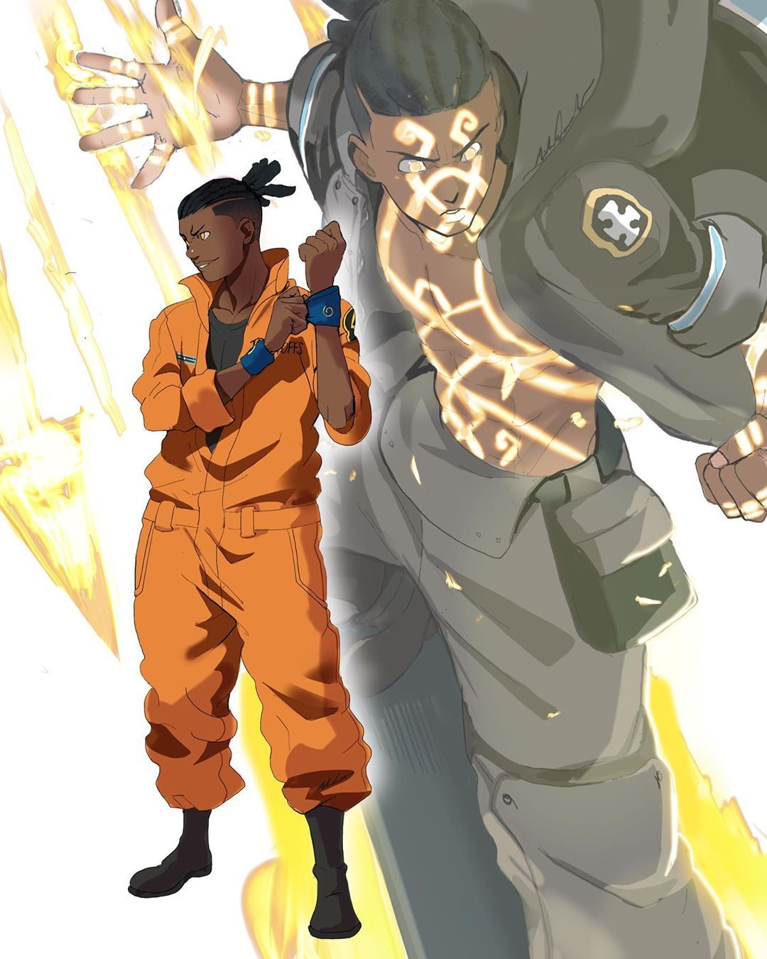 Fire Force Characters Looking for the best video game characters wallpaper? fire force characters