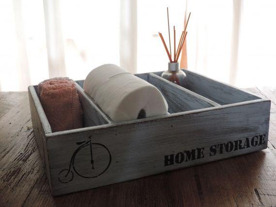 Cajón organizador restaurado - Cajas - Casa - 803012