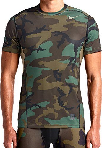 074b8df41f815 T Shirts · Nike Men's Camo Woodland Pro Combat Hypercool Dri-FIT Max...  https: