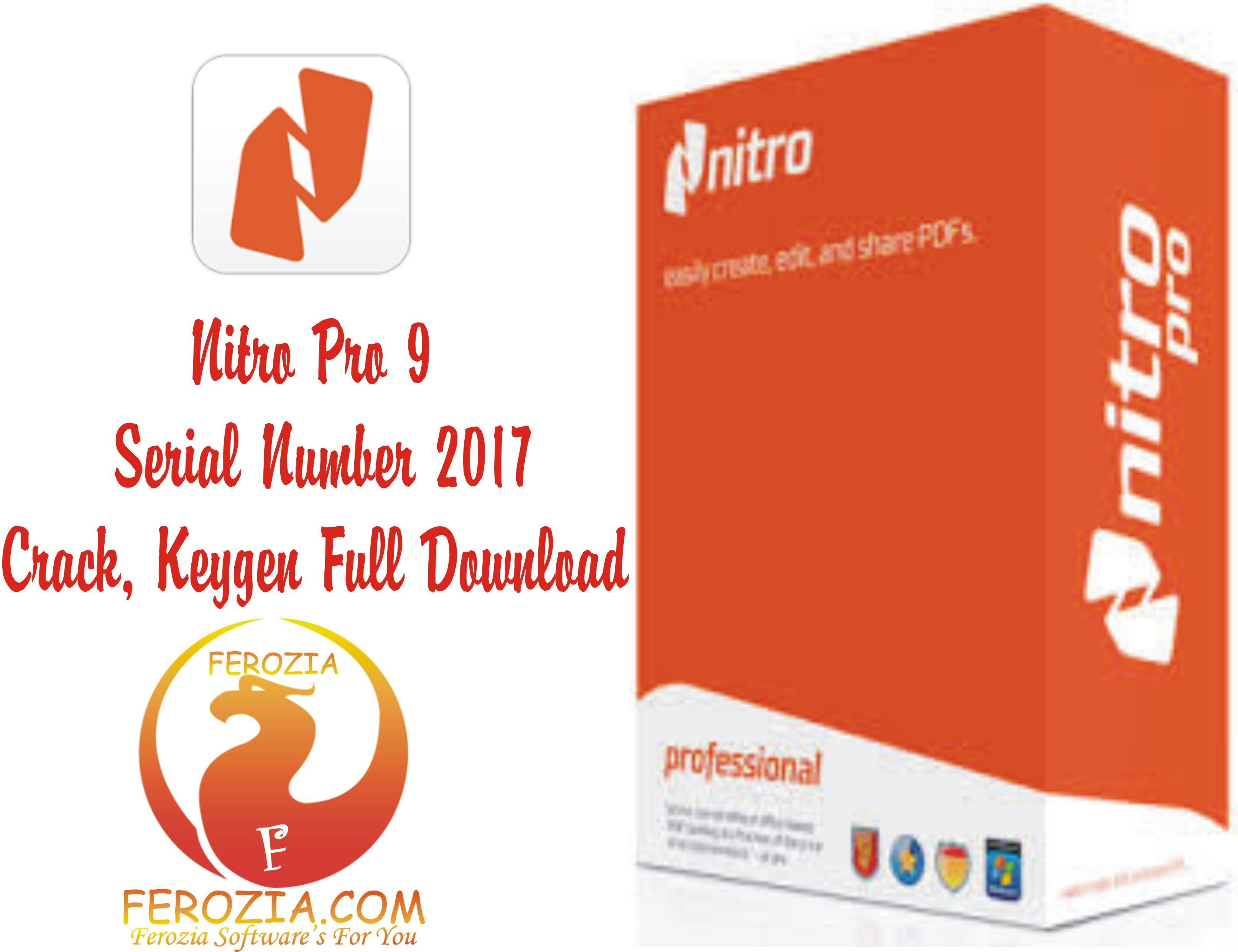 nitro pro 9 keygen free download