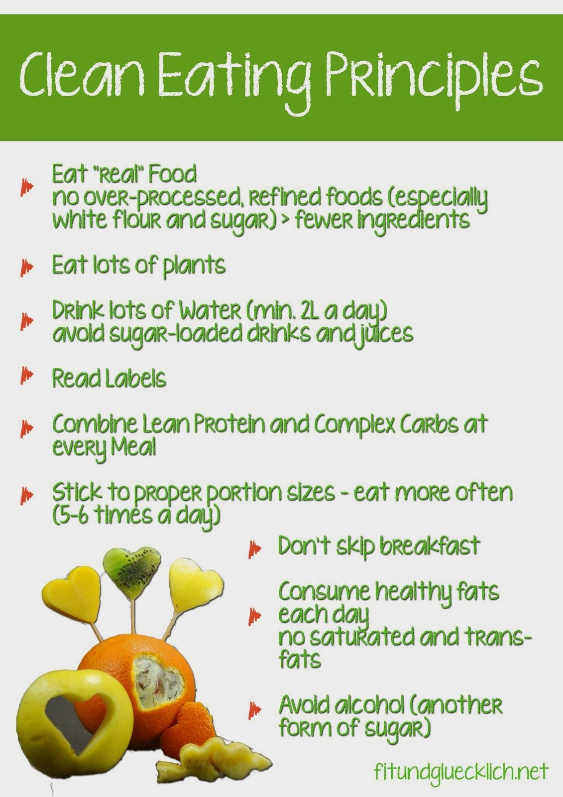 7 Tips for Clean Eating