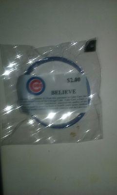 Chicago Cubs Believe Wristband Bracelet Rare Please Retweet