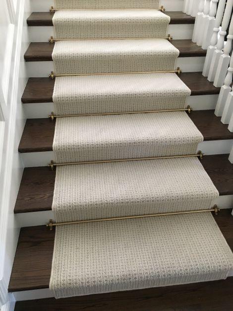 Masland Carino New Zealand Wool Stair Runner Stair Runner Carpet   Wool Carpet Runners For Stairs   Flooring   Woven   Rectangular Cord Treads   Stair Country Style   Modern