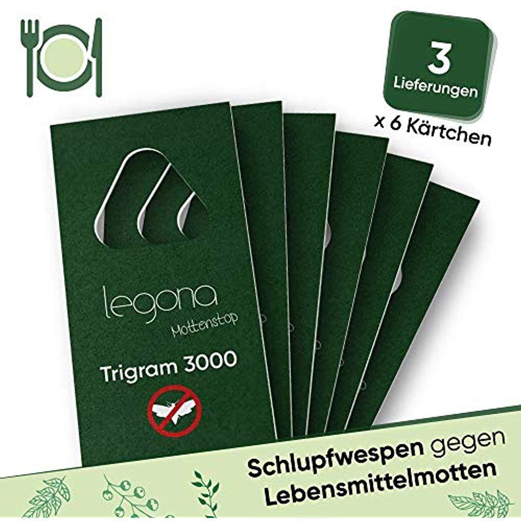 Legona Schlupfwespen Gegen Lebensmittelmotten Biologische Nachhaltige Bekampfung Von Motten In Lebensmitteln 6x Trigram Karte A 3 Lieferun Tableware Napkins