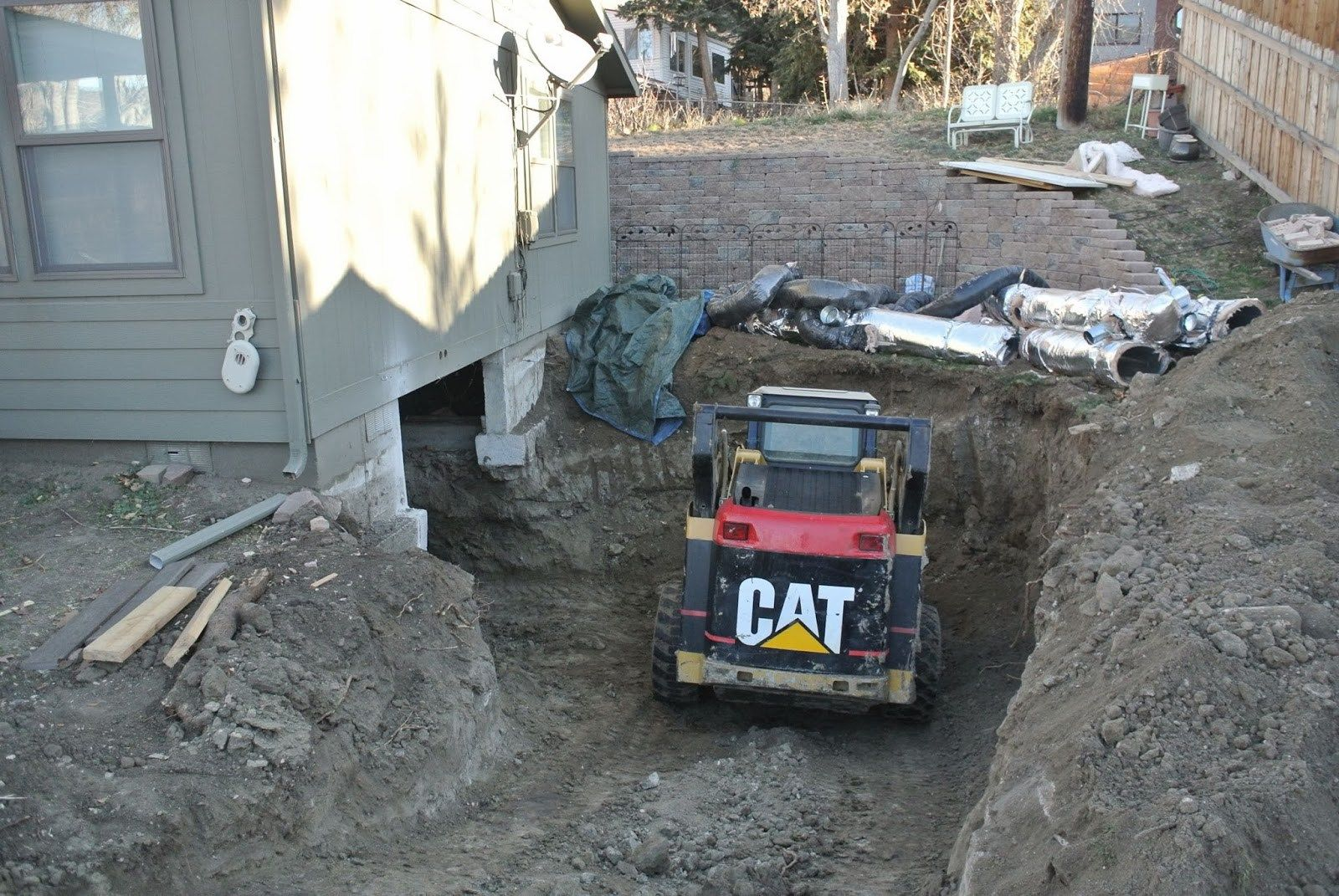 Sunday Reminiscences Footers Floor Crawl Space To Basement In Basement  Crawl Space | Home Decor | Pinterest | Crawl Spaces, Basements And Spaces.