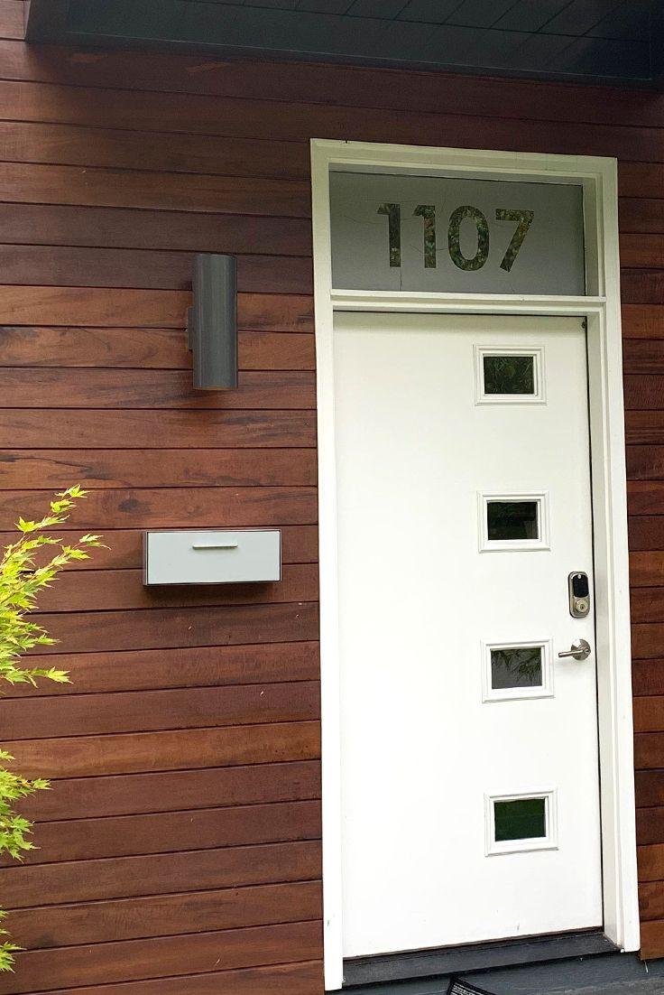 Modern mailbox wall mounted modbox in 2020 modern