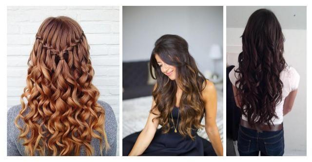 Włosy Falowane Propozycje Kobiecych Fryzur Włosy Włosy