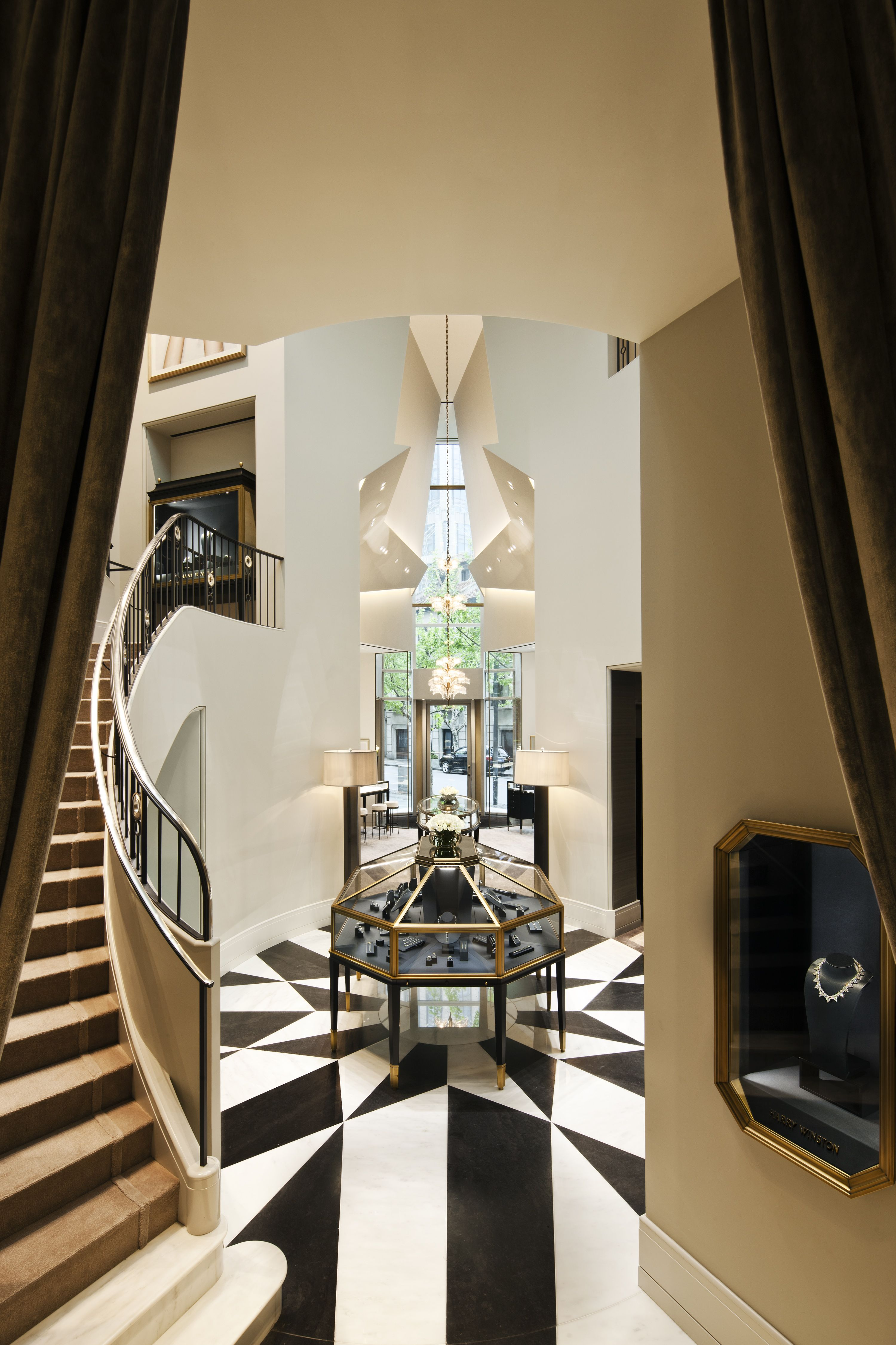 Diamond Jewelry & Luxury Watches - Harry Winston Interior Ideashome