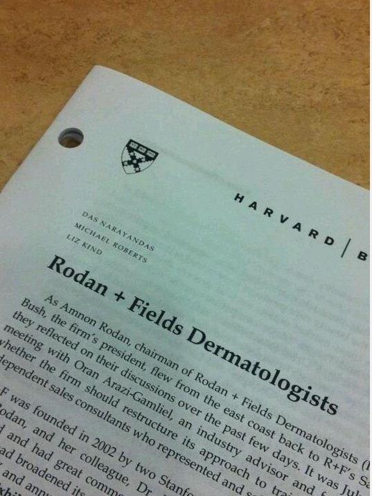 harvard business case study rodan and fields Harvard business school studies rodan + fields business model.