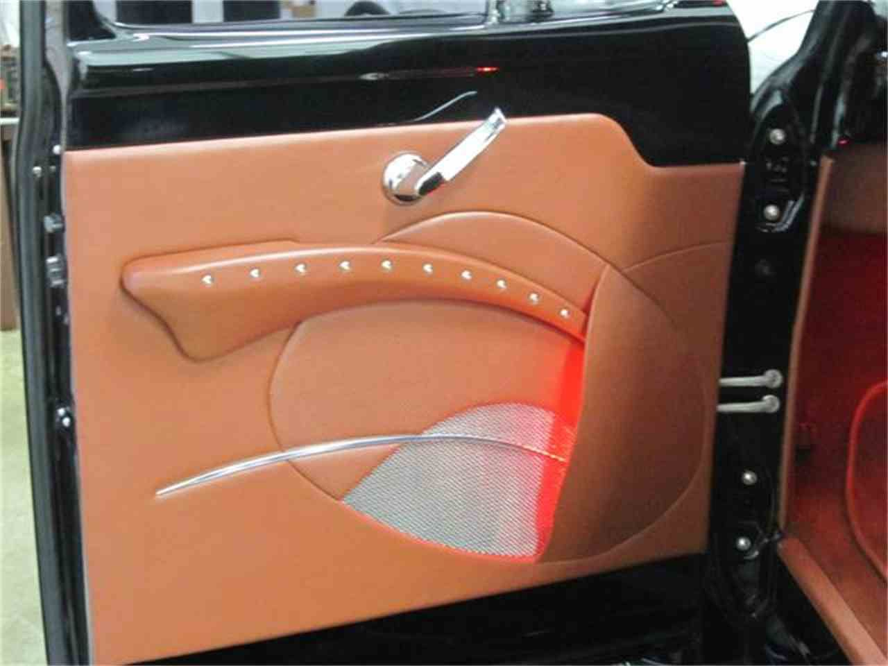 Door Panel On A 1953 Ford F100 Ford Interior Panel Doors Truck Interior