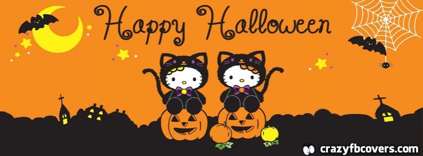 Hello Kitty Happy Halloween Facebook Cover Facebook Timeline