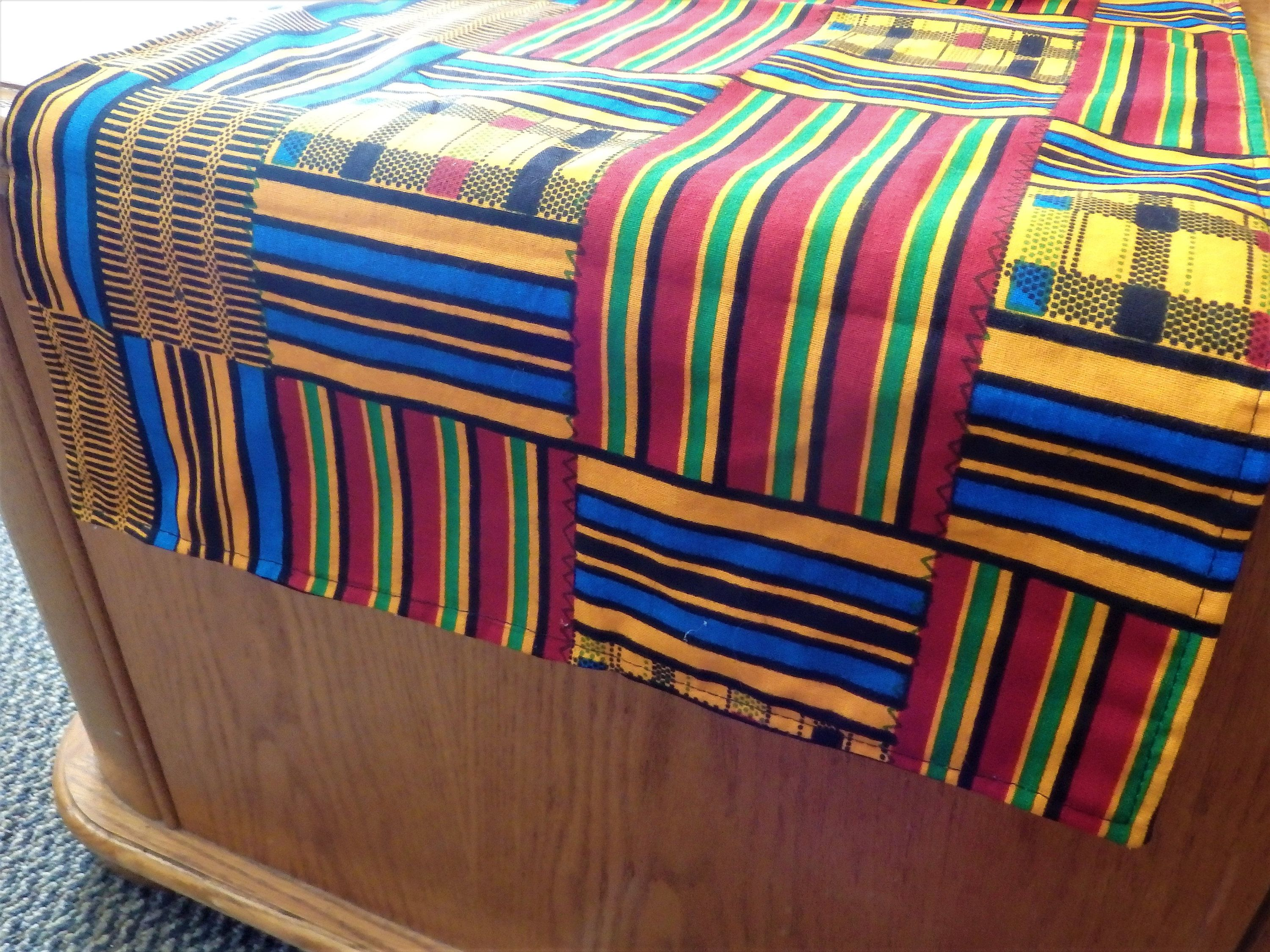 Kente Print Table Runner, African Table Cloth, Or Matching Luncheon Napkins    Your Choice By BaysideBarb On Etsy