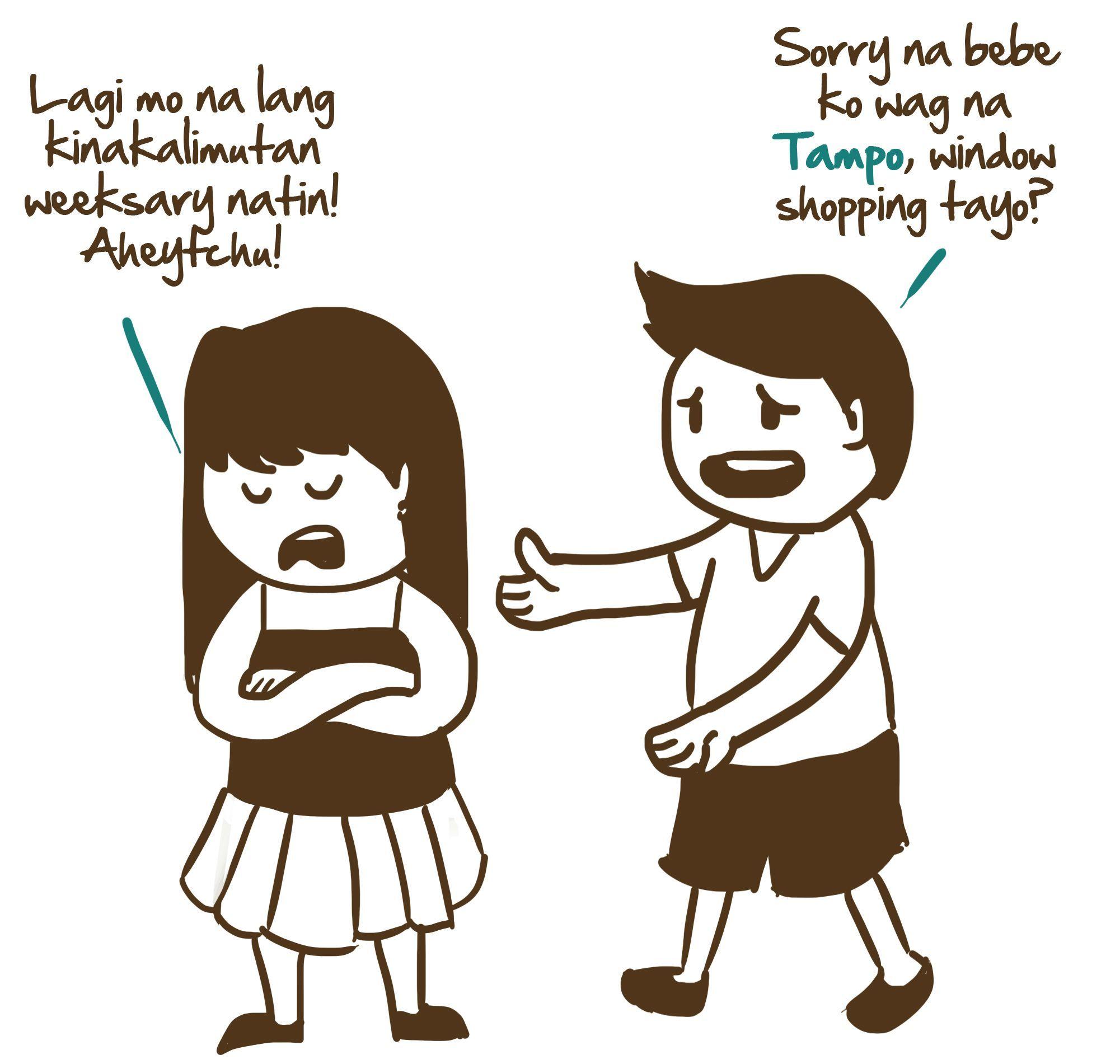 Dating tayo translate in english