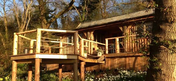 The Oak House Cabin In Bath N E Somerset Canopy Stars 92 P