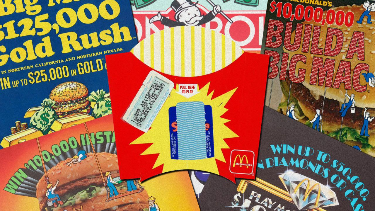 How McDonalds designs its wildly popular sweepstakes