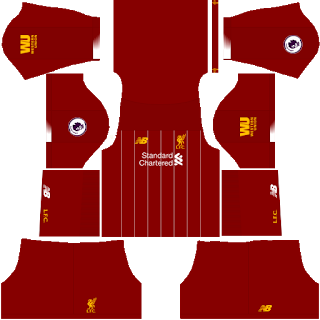 Liverpool 2019/2020 Kit - Dream League Soccer Kits
