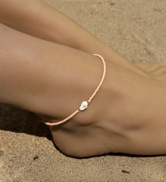 Silver Crystal Infinity Ankle Anklet Adjustable Chain Foot Boho Wedding