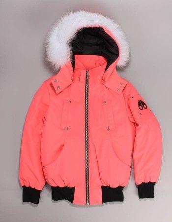 Pink Moose Knuckle Bomber Jacket in 2019 | Bomber jacket