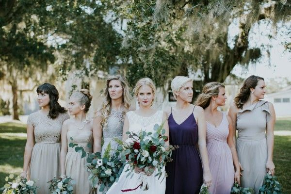 A bridal party shot with some edge | Image by Emily Magers