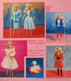 Momento nostalgia da Ana   Recordação Coleção catálogos Barbie da Estrela anos 80:     albuns de figurinhas:         Minis catálogos que...