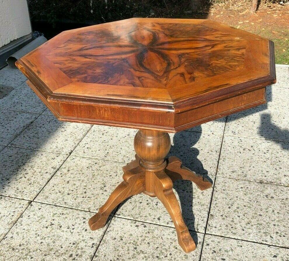 Mein Ebay Aktiv Tische Holz Holz Beistelltisch Rund
