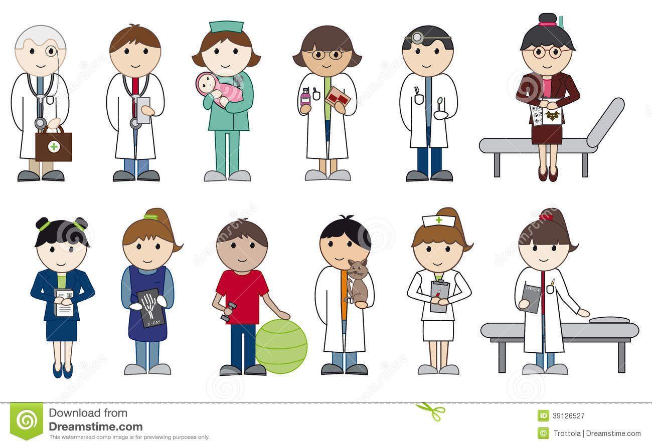 Huddimage.com / Images: Medicos Y Enfermeras En Caricatura ...
